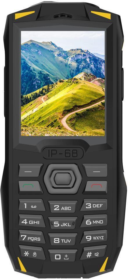 IGET Blackview GBV1000 Yellow - odolný telefon IP68, DualSIM, 3000 mAh, BT 3.0, svítilna, FM, MP3 (GBV1000 Yellow)