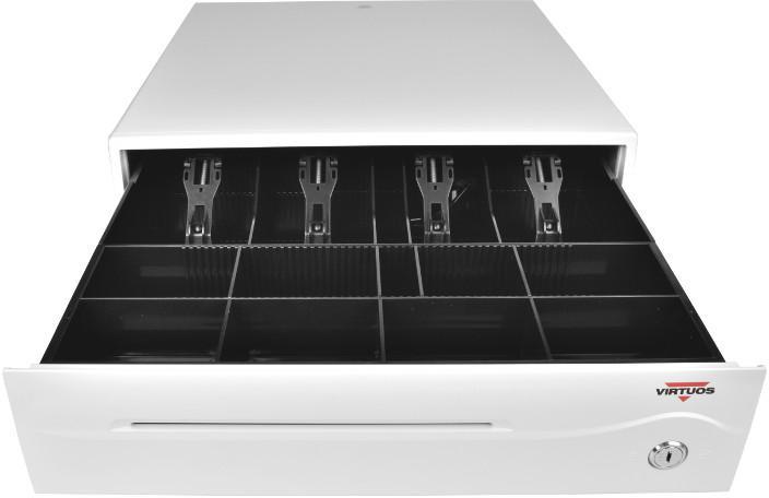 VIRTUOS Pokladní zásuvka C420B - bez kabelu, 9-24V, bílá (EKA0044)