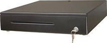 DOXY Pokl.zásuvka DOXY PZ1202 USB,černá,vč.USB kabelul, kovové držáky bankovek (PZ1202USB)