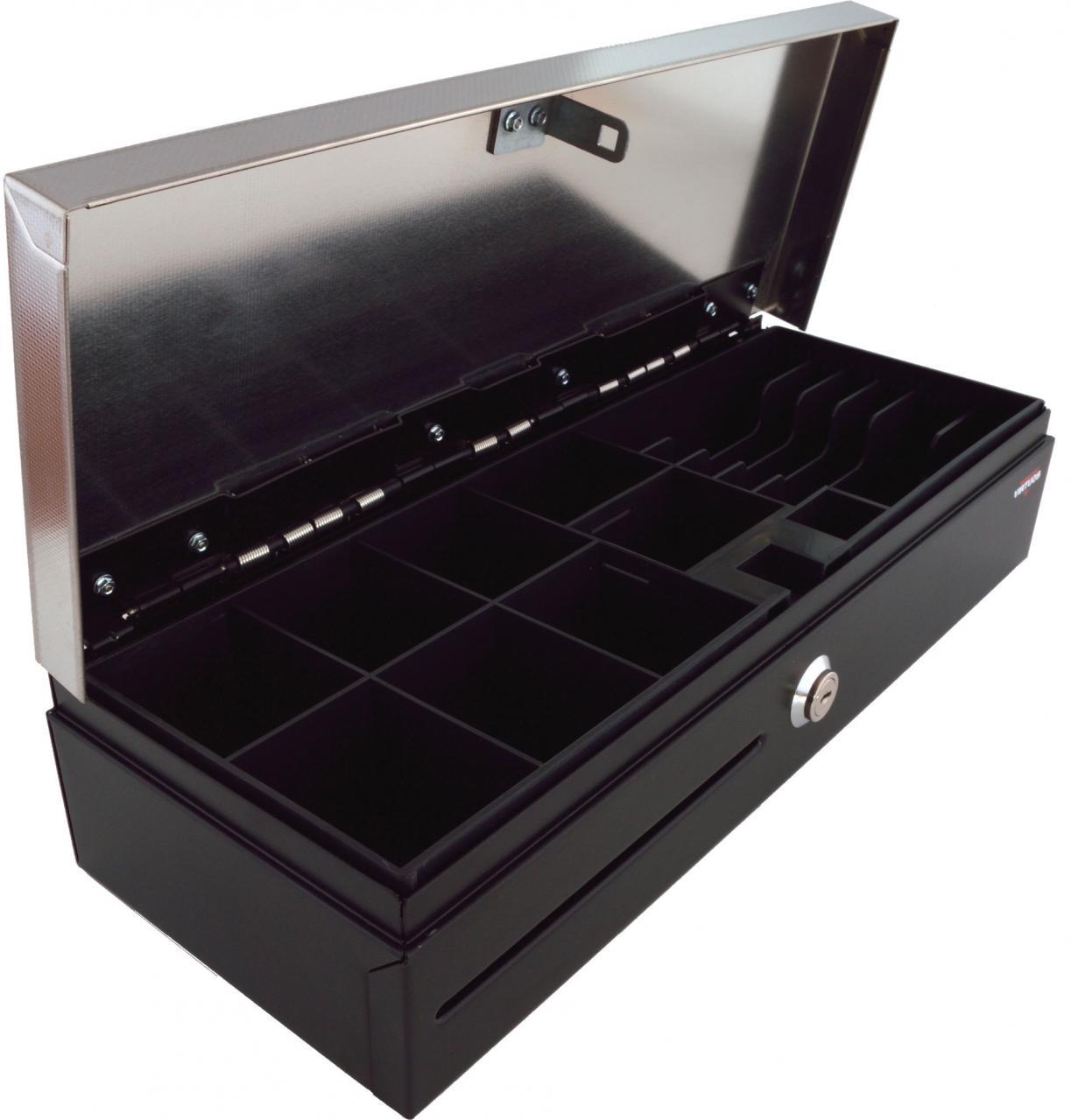 VIRTUOS Pokladní zásuvka flip-top FT-460V2 - bez kabelu (EKN0004)