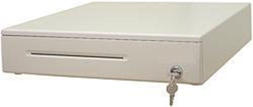 DOXY Pokl.zásuvka DOXY PZ1201, béžová, včetně kabelu 24V, kovové držáky bankovek (PZ1201-24)
