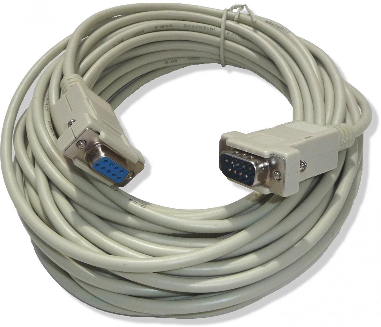 VIRTUOS Prodlužovací sériový kabel pro displeje, 10 m (EJA9019)